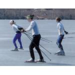 Het nieuwe schaatsen click noren