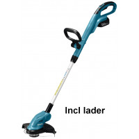 MAKITA 18 V ACCUTRIMMER DUR181RT INCL. LADER