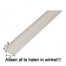 HOEKPROFIEL PVC WIT 40X10X2/1