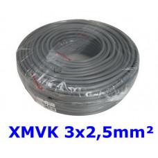 3 X 2,5 XMVK 100 METER RING ECA GRIJS ....
