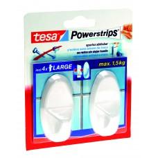TESA POWERSTRIPS WIT OVAL 58013/49 (KERN)