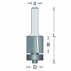 104-8 HM KANTENFREES SCHUINE SNIJHOEK (SCHEREND) , D= 16