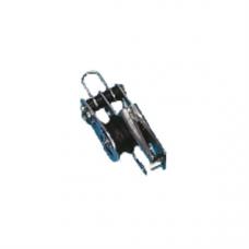 DUBBEL V-KLEM MET HV EN UITN PEN VOOR LIJN T/M 6MM 610025