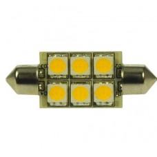 LEDLAMP LED6 FESTOON 10-30V 42MM