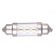 LEDLAMP LED3 FESTOON 10-30V 37MM K.WIT