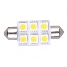 LEDLAMP LED6 FESTOON 10-30V 37MM