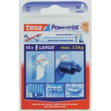 TESA POWERSTRIPS LARGE 10X 0 102 WIT