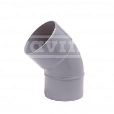 PVC LIJM 45 GRADEN BOCHT 50 MM