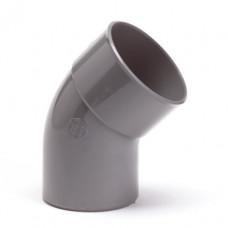 PVC LIJM 45 GRADEN BOCHT 40 MM