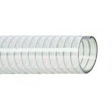 25 MM PVC ZUIG/PERSSLANG TRANSPARANT